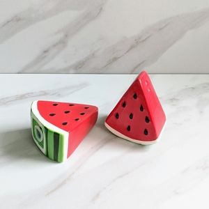 Other - Watermellon Summertime Fun Salt and Pepper Shakers